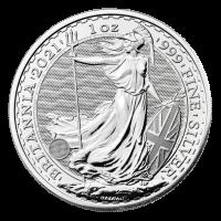 1 oz 2021 Britannia Silver Coin