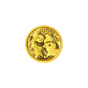 1 gram 2021 Chinese Panda Gold Coin
