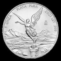 1 oz 2021 Mexican Libertad Silver Coin