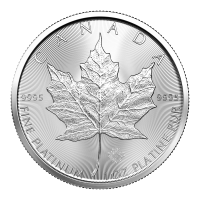 1 oz 2021 Canadian Maple Leaf Platinum Coin