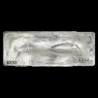 1000 oz Assorted Johnson Matthey Silver Bar