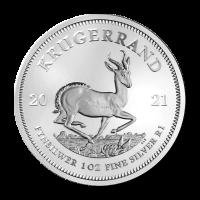 1 oz 2021 Krugerrand Silver Coin