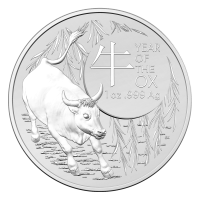 1 oz 2021 Royal Australian Mint | Lunar Series | Year of the Ox Silver Coin