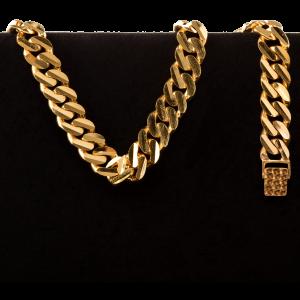 39.5 gram 22 kt Curb Style Gold Bracelet
