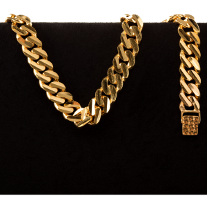 47.0 gram 22 kt Curb Style Gold Bracelet