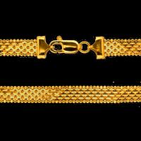 20.5 gram 22 kt Bismark Style Gold Necklace