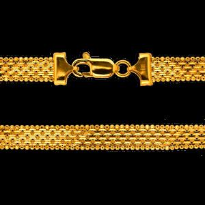 22.0 gram 22 kt Bismark Style Gold Necklace