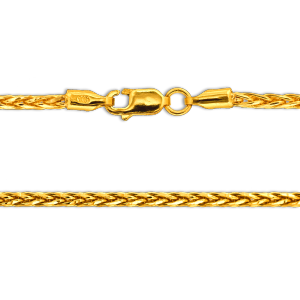 24.0 gram 22 kt Spiga Style Gold Necklace