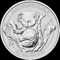 1 kg | kilo 2021 Australian Koala Silver Coin