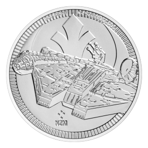 1 oz 2021 Star Wars | Millennium Falcon Silver Coin