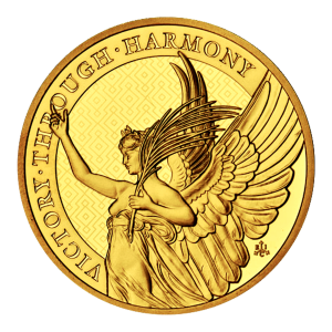 1 oz 2021 Saint Helena | The Queen's Virtues: Victory | Gold Coin