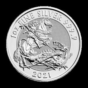 1 oz 2021 Royal Mint Valiant Silver Coin