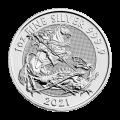 Moneda de plata Valiente 2021 de 1 onza de la Casa de la Moneda Real
