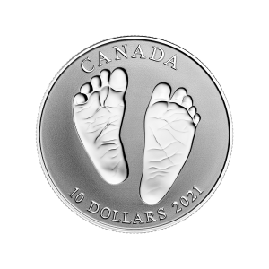 2021 Royal Canadian Mint | Welcome to the World | Baby Gift Silver Coin