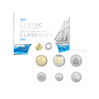Set of 6 x 2021 Royal Canadian Mint Classic Coins