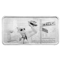 10 oz Wall Street Silver | To the Moon Silver Bar