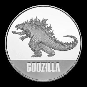 1 oz 2021 Niue Godzilla Silver Coin