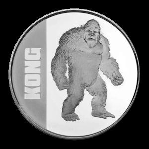1 oz 2021 Niue Kong Silver Coin
