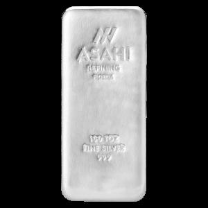 100 oz Asahi Florida Silver Bar