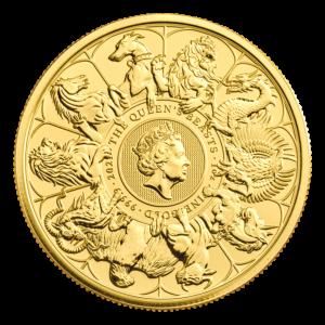 Serie Bestias de la Reina | Real Casa de la Moneda | Moneda de oro Completer 2021 de 1 onza