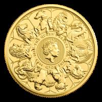 Serie Bestias de la Reina   Real Casa de la Moneda   Moneda de oro Completer 2021 de 1 onza