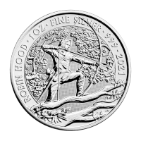1 oz 2021 Great Britain Myths and Legends - Robin Hood Silver Coin