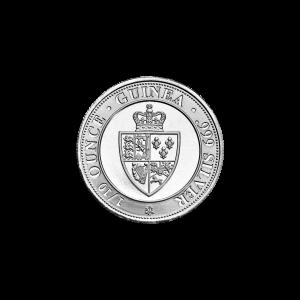 1/10 oz 2021 St Helena Spade Guinea Silver Coin