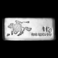 1 kg | Kilo SilverTowne Pony Express Silver Bar