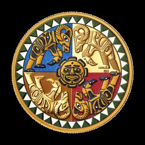 1 oz 2021 Royal Canadian Mint - Ramming Bighorn Sheep Gold Coin