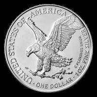 1 oz 2021 American Eagle Type 2 Silver Coin