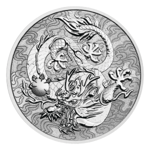 1 oz 2021 Australia Chinese Myths and Legends | Dragon Silver Coin