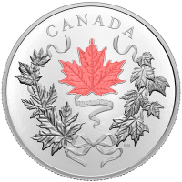 10 oz 2021 Royal Canadian Mint | National Colours Silver Coin