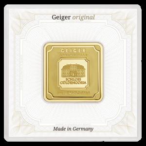 1 oz Geiger Edelmetalle Gold Bar