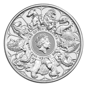 2 oz 2021 Royal Mint Queen's Beasts | Completer Silver Coin