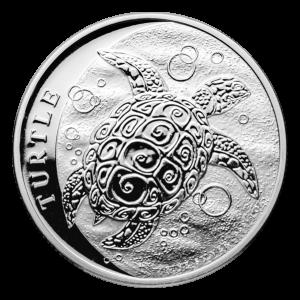 1 oz 2021 Niue Hawksbill Turtle Silver Coin