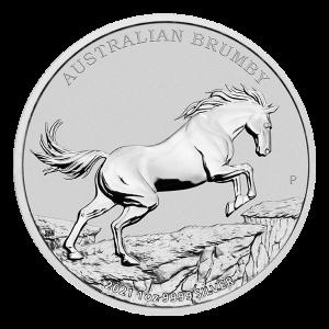 1 oz 2021 Australian Brumby Silver Coin