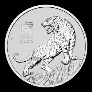 1 oz 2022 Perth Mint | Australian Lunar Year of the Tiger Platinum Coin