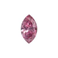 0.18 Carat - Fancy Vivid Purplish Pink Diamond